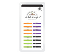 Doodlebug Design Halloween Mini Clothespins (16pcs) (4435)
