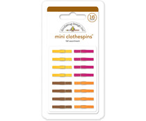 Doodlebug Design Fall Mini Clothespins (16pcs) (4436)