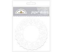 Doodlebug Design Lily White Doilies (75pcs) (4460)
