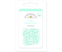 Doodlebug Design Swimming Pool Mini Paperclips (25pcs) (4501)