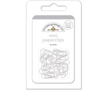 Doodlebug Design Lily White Mini Paperclips (25pcs) (4504)
