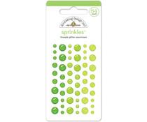 Doodlebug Design Limeade Glitter Sprinkles (54pcs) (4538)