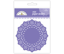 Doodlebug Design Lilac Mini Doilies (75pcs) (4604)