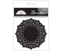 Doodlebug Design Beetle Black Mini Doilies (75pcs) (4607)