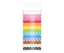 Doodlebug Design Gingham Assortment Washi Tape (12pcs) (4803)