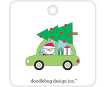 Doodlebug Design Here Comes Santa Collectible Pin (5416)