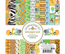 Doodlebug Design At the Zoo 6x6 Inch Paper Pad (5691)