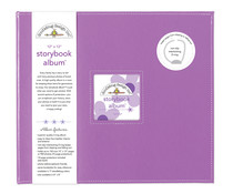 Doodlebug Design Lilac 12x12 Inch Storybook Album (5723)
