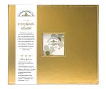 Doodlebug Design Gold 12x12 Inch Storybook Album (5726)