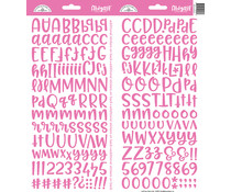 Doodlebug Design Bubblegum Abigail Stickers (5808)