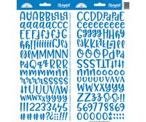 Doodlebug Design Blue Jean Abigail Stickers (5816)