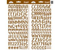Doodlebug Design Bon Bon Abigail Stickers (5819)