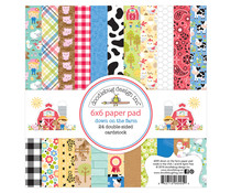 Doodlebug Design Down on the Farm 6x6 Inch Paper Pad (6005)