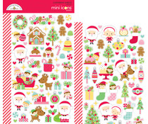 Doodlebug Design Christmas Magic Mini Icons Sticker (6471)