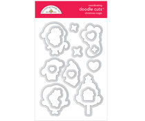 Doodlebug Design Christmas Magic Doodle Cuts (6478)