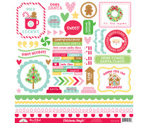 Doodlebug Design Christmas Magic This & That Stickers (6562)