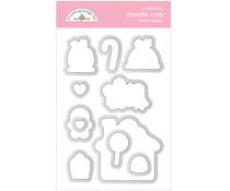 Doodlebug Design Santa's Sweets Doodle Cuts (6480)