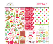 Doodlebug Design Christmas Magic 12x12 Inch Essentials Kit (6543)