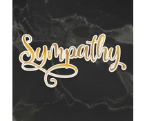 Couture Creations Sympathy Cut, Foil and Emboss Die (CO726958)
