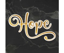 Couture Creations Hope Cut, Foil and Emboss Die (CO726959)
