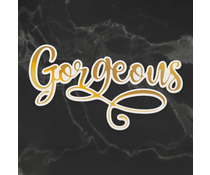 Couture Creations Gorgeous Cut, Foil and Emboss Die (CO726963)