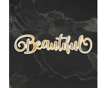 Couture Creations Beautiful Cut, Foil and Emboss Die (CO726964)