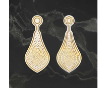 Couture Creations Stippled Bauble Cut, Foil and Emboss Die (CO727011)