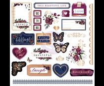 Prima Marketing Darcelle Ephemera & Stickers (642037)