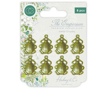 Craft Consortium The Emporium Metal Charms Beetles (CCMCHRM009)