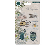 Craft Consortium The Emporium Beetles Clear Stamps (CCSTMP019)