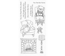 My Favorite Things Cozy Companions Clear Stamps (SY-15)
