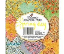 Decorer Spring Day 6x6 Inch Paper Pack (DECOR-C30-233)