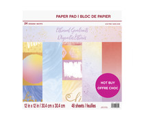Craft Smith Ethereal Gradients 12x12 Inch Paper Pad (MSE5207)