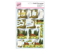 Anita's Foiled Decoupage Deer Valley (ANT 169941)