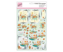 Anita's Foiled Decoupage Spring Has Spring (ANT 169945)