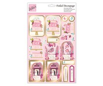 Anita's Foiled Decoupage Happy Ever After (ANT 169948)