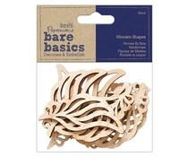 Papermania Bare Basics Wooden Wings (10pcs) (PMA 174530)