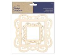 Papermania Bare Basics Magnetic Wooden Frames (2pcs) (PMA 174541)