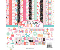 Echo Park It's Your Birthday Girl 12x12 Inch Collection Kit (TBG200016)