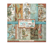 Stamperia Sea World 12x12 Inch Paper Pack (SBBL64)