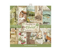 Stamperia Forest 8x8 Inch Paper Pack (SBBS06)