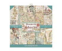 Stamperia Imagine 8x8 Inch Paper Pack (SBBS07)
