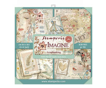 Stamperia Imagine 12x12 Inch Maxi Paper Pack (SBBXL04)