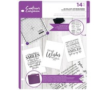 Crafter's Companion Get Well Soon Clear Stamps (CC-CA-ST-GET)