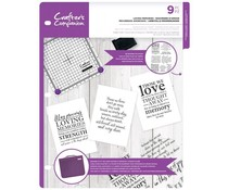 Crafter's Companion Loving Memories Clear Stamps (CC-CA-ST-LOM)