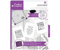 Crafter's Companion Precious Baby Clear Stamps (CC-CA-ST-PRB)
