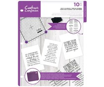 Crafter's Companion Time To Celebrate Clear Stamps (CC-CA-ST-TTC)