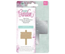 Crafter's Companion Fairy Garden Metal Die Sign Post (NG-FAIRY-MD-SIGN)