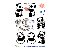 LDRS Creative Panda Play Clear Stamps (LDRS3198)