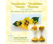 Leane Creatief Stamens Honey Yellow (26.6586)